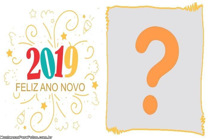2019 Feliz Ano Novo Personalizado