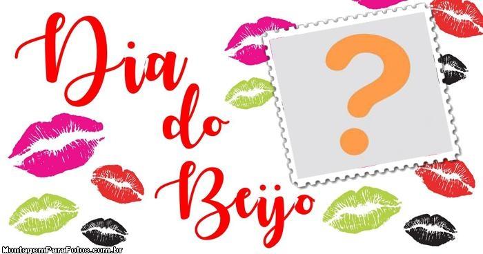 Dia do Beijo Moldura