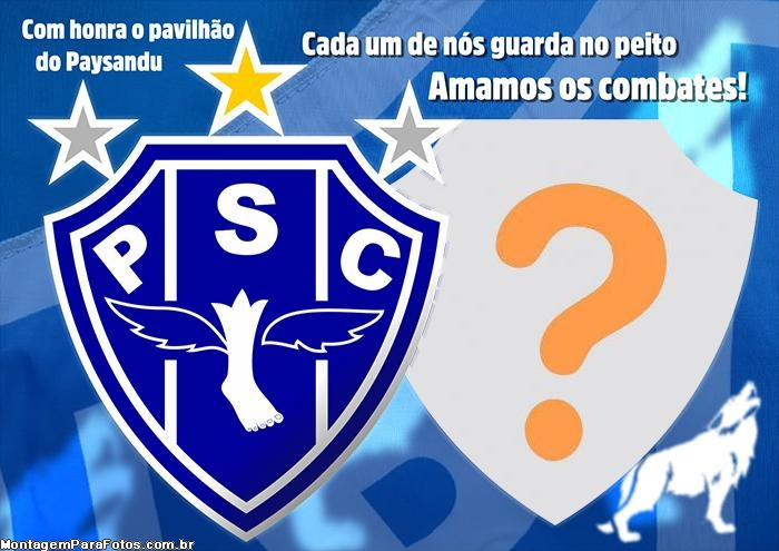 Moldura Paysandu Sport Club