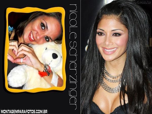Moldura Nicole Scherzinger
