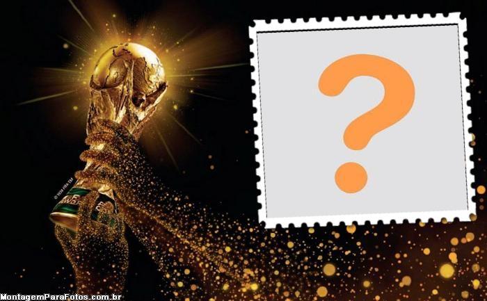 Colagem de Foto Taça da Copa