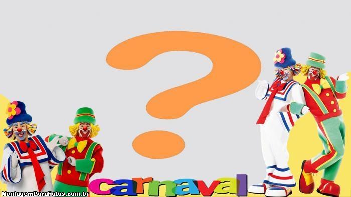 Moldura Carnaval do Patati Patatá