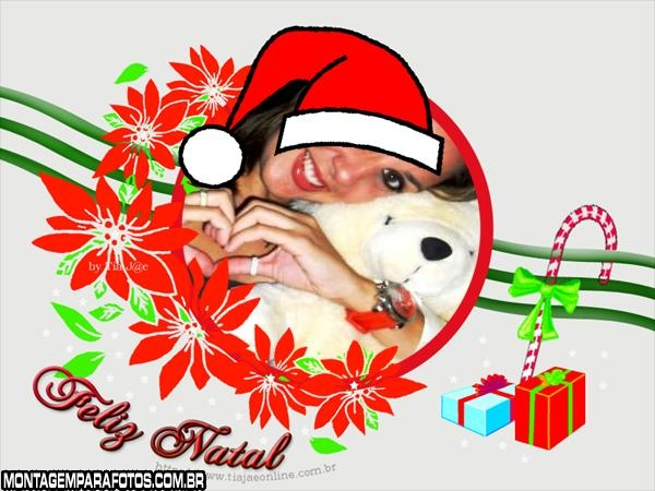 Guirlanda e Presentes de Natal