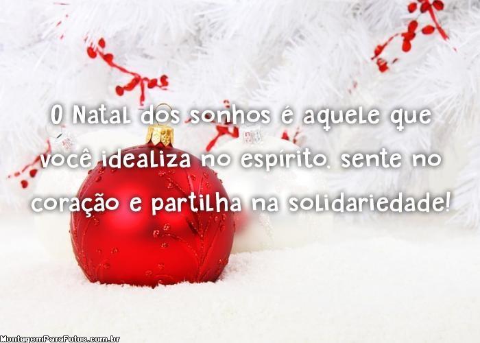 Natal dos sonhos