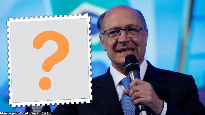 Moldura Geraldo Alckmin