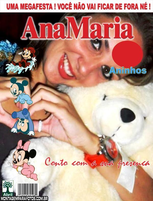 Convite Capa Ana Maria