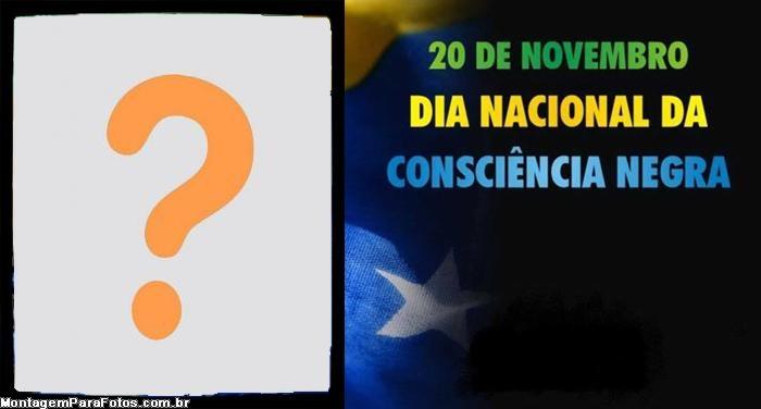 Dia Nacional da Consciência Negra Moldura