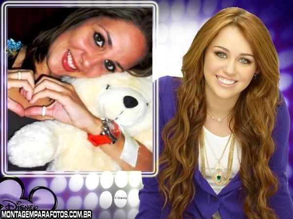 Moldura Hannah Montana