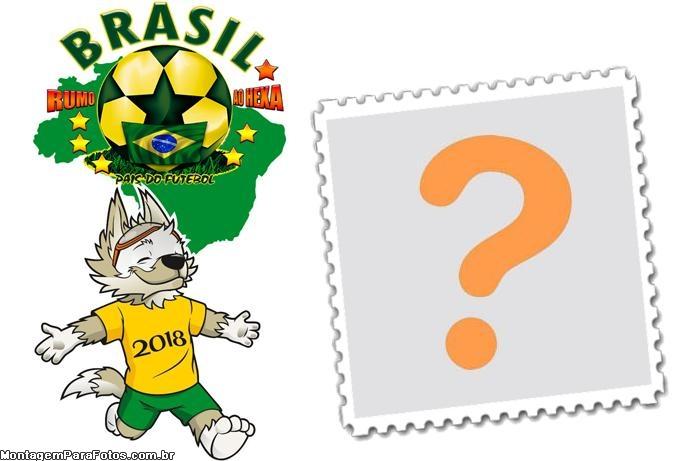 Brasil Rumo ao Hexa FotoMoldura