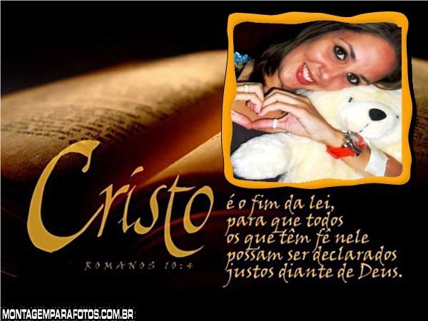 Mensagens Bíblicas Moldura Montagem Para Fotos
