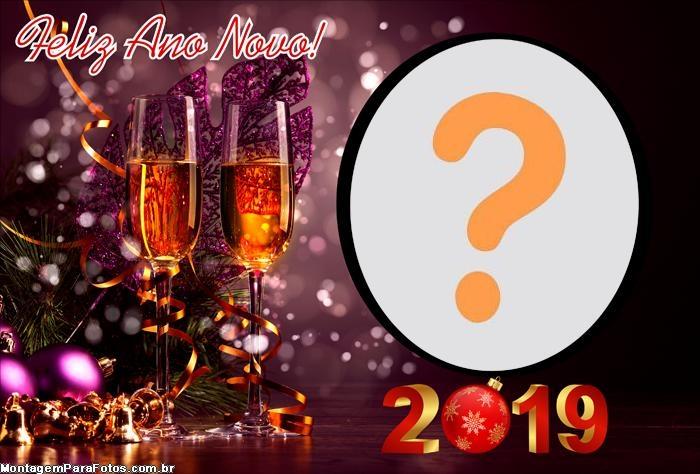 Desejamos Um Feliz 2019 Moldura