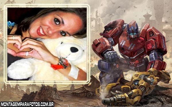 Moldura Jogo Transformers