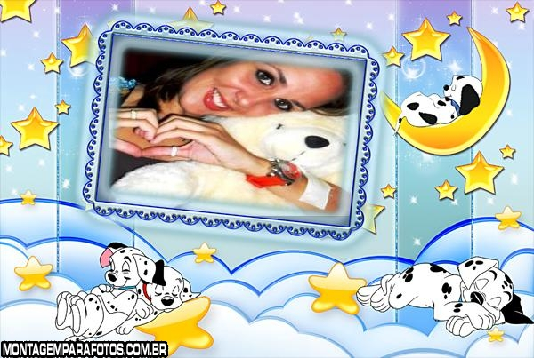 Cachorrinhos Dalmatas No Céu