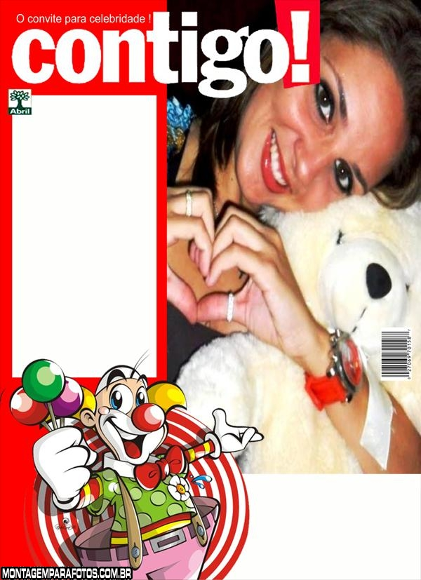 Revista Contigo Palhacinho
