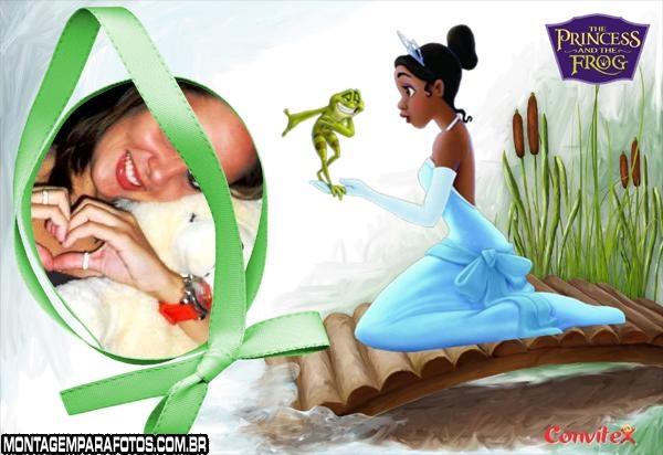 Moldura Princesa e Sapo