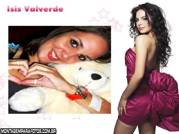 Moldura da Isis Valverde atriz