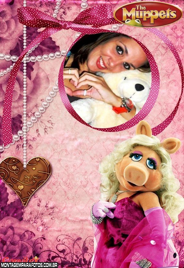 Moldura Miss Piggy