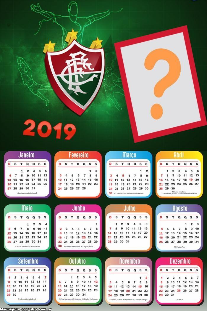 Calendário 2019 Fluminense