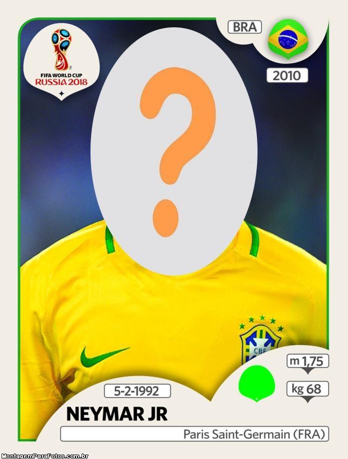 Face in Hole Neymar Figura