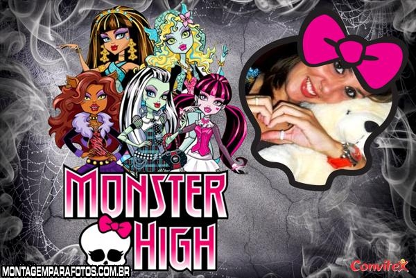 Fotomoldura Monster High