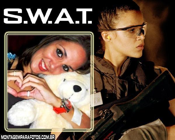 Moldura Michelle Rodriguez Swat
