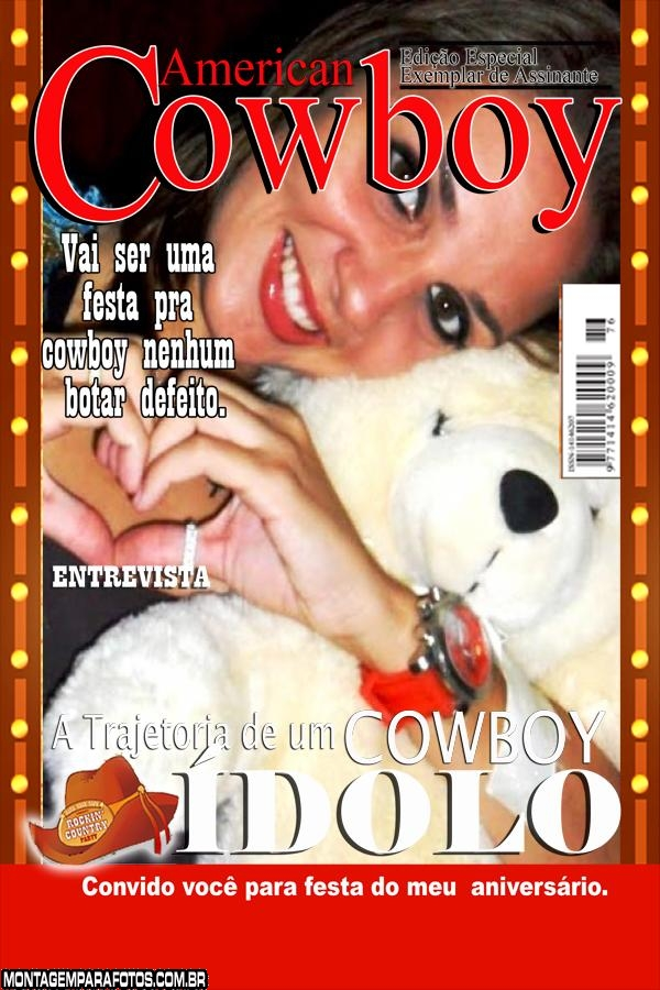 Capa Revista Cowboy