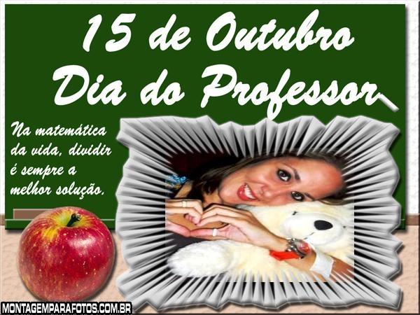 Dia do Professor Moldura