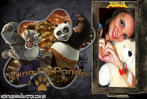 Moldura do Kung-fu Panda