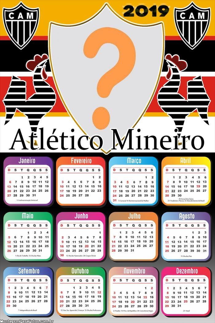 Calendário 2019 Atlético Mineiro