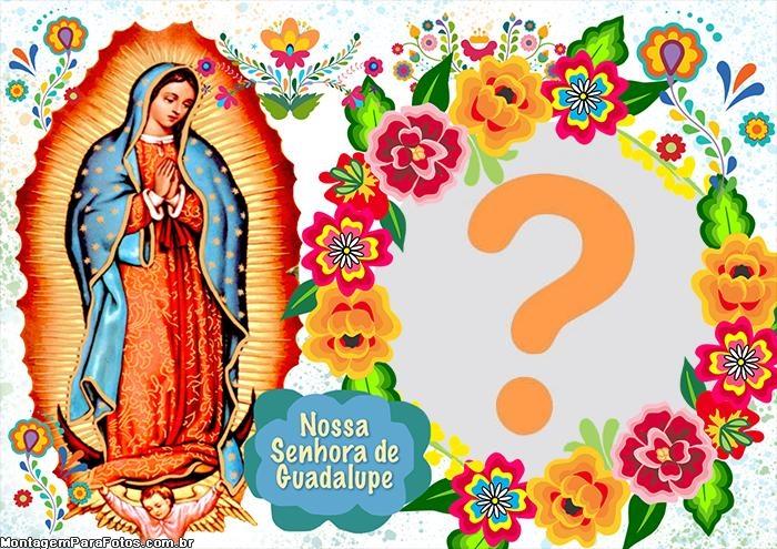 Nossa Senhora de Guadalupe Foto Colagem