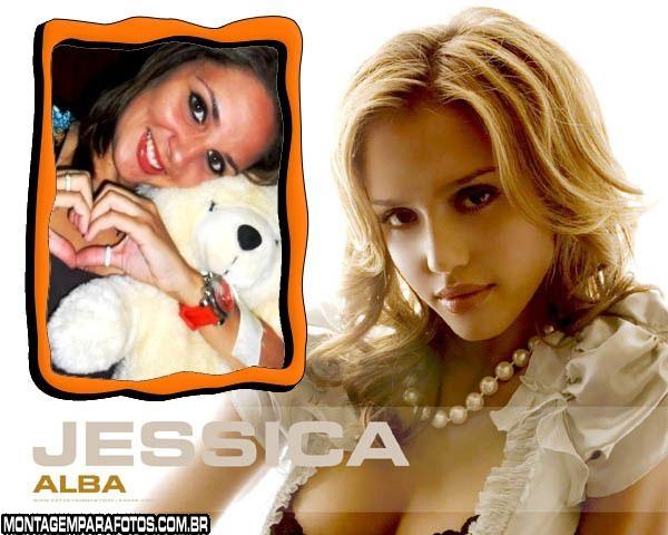 Moldura Jessica Alba