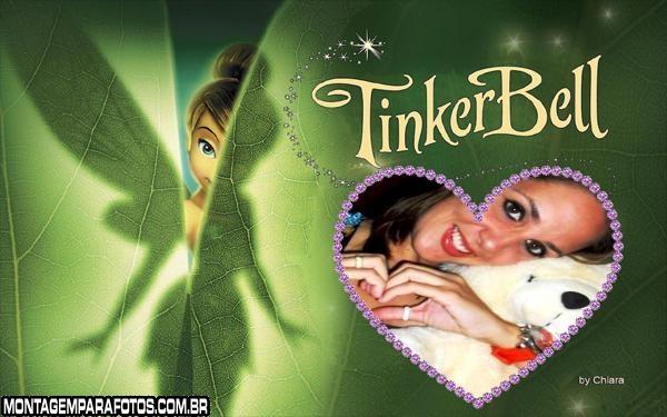 Tinker Bell Floresta Moldura