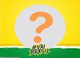 Vai Brasil Foto Moldura