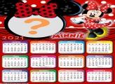 Calendário 2021 Minnie com Vestido Vermelho
