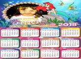 Calendário 2018 Desenho Nemo
