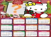 Calendário 2021 Hello Kitty de Natal