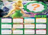 Calendário 2019 Tinker Bell