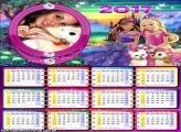 Calendário 2017 Barbie Amor