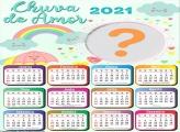 Calendário 2021 Chuva de Amor
