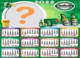 Calendário 2022 Heineken Colagem de Foto