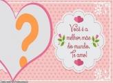Coração Montagem Dia das Mães