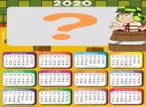 Moldura Calendário 2020 do Chaves