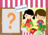 Quitandinha Tema Infantil Foto Montagem