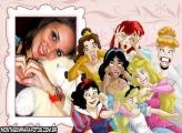 Moldura Careta Princesas