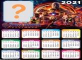 Calendário 2021 Vingadores Ultimato Foto Grátis