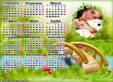 Calendário 2017 Jardim Encantado