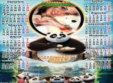 Calendário 2017 Kung Fu Panda 3