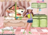 Moldura Barbie Kitchen