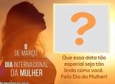 Dia das Mulher Data Especial Montagem de Foto