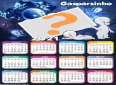 Calendário 2021 do Gasparzinho Foto Montagem